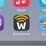 Echowaves - Logo